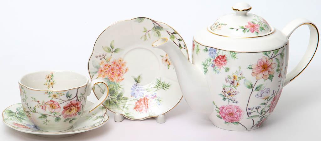 Фото Сервиз чайный Balsford Эмма 13 предметов на 6 персон