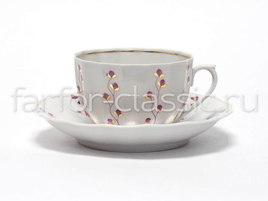 Фото Чай вдвоем Францъ Гарднеръ Ампир Летний, 4 предмета