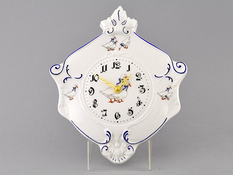 Фото Часы настенные 27 см Форма Мэри-Энн Чешские гуси