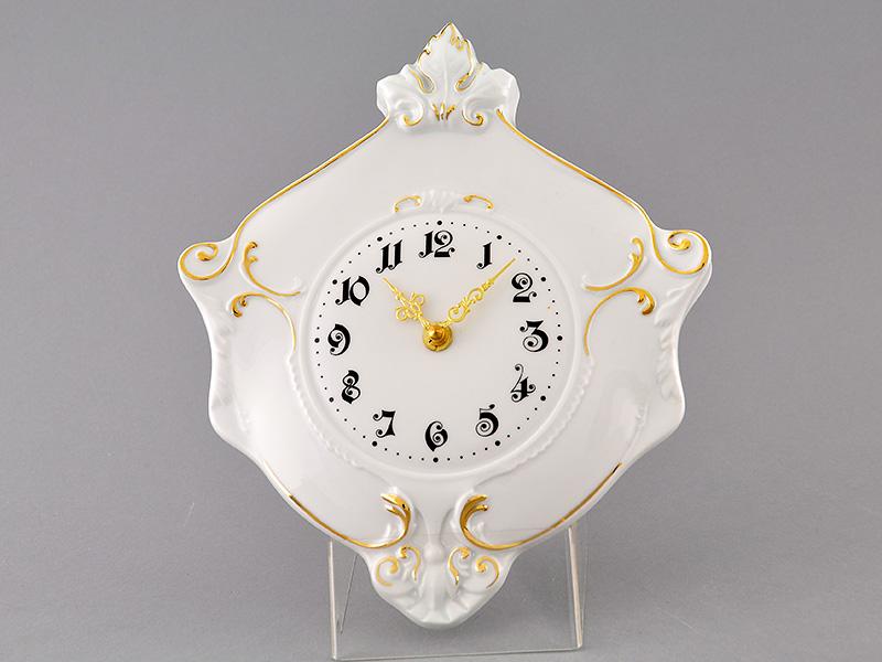 Фото Часы настенные гербовые 27 см Форма Соната Золотой контур