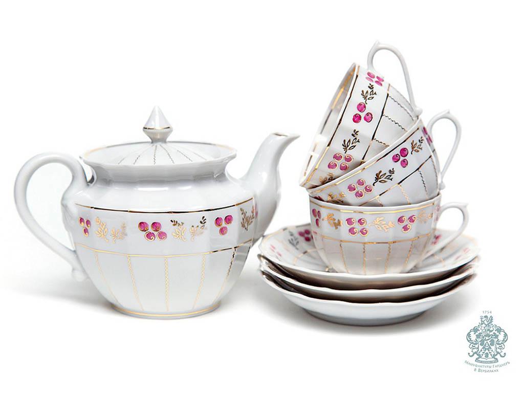 Фото Сервиз чайный Лесная сказка 15 предметов Ампир
