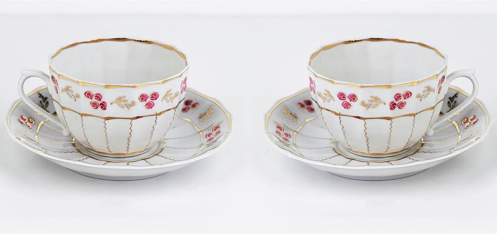 Фото Чай вдвоем Францъ Гарднеръ Ампир Лесная сказка, 4 предмета