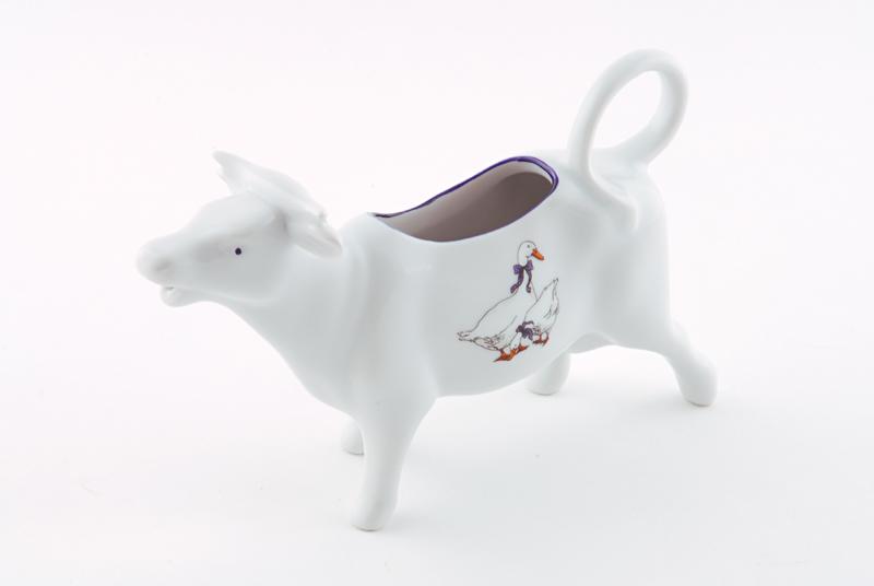 Фото Сливочник корова 70 мл Форма Мэри-Энн Чешские гуси