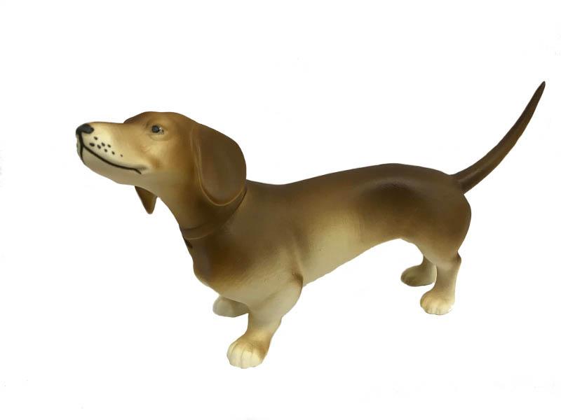 Фото Фигурка собака Такса 16,5 см