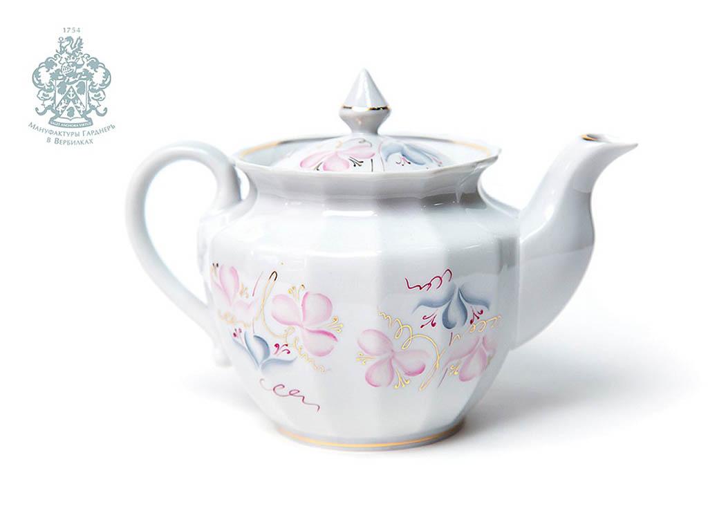 Фото Сервиз чайный Весенний Версаль 15 предметов Ампир