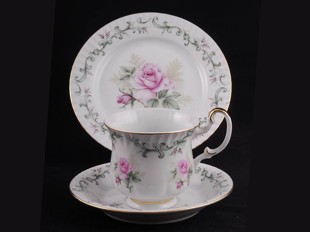 Фото Комплект чайный 250 мл, 3 предмета,  Форма Моника Принцесса