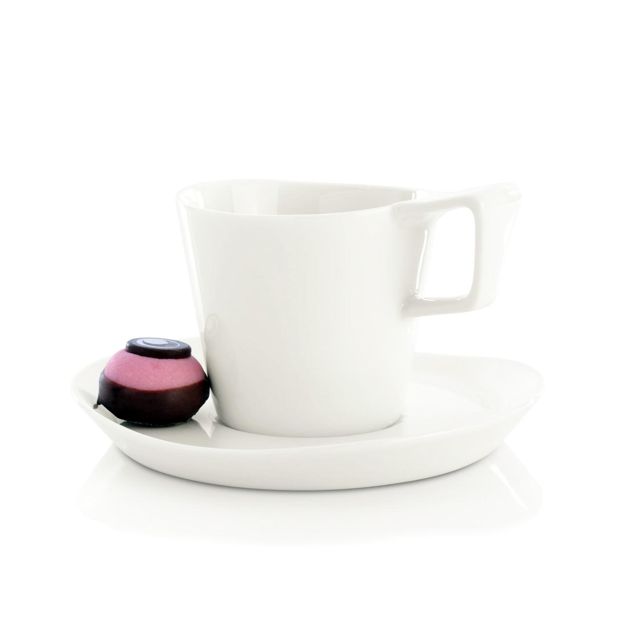 Фото Набор чашек для кофе с блюдцем 180 мл BergHOFF Eclipse 2 шт