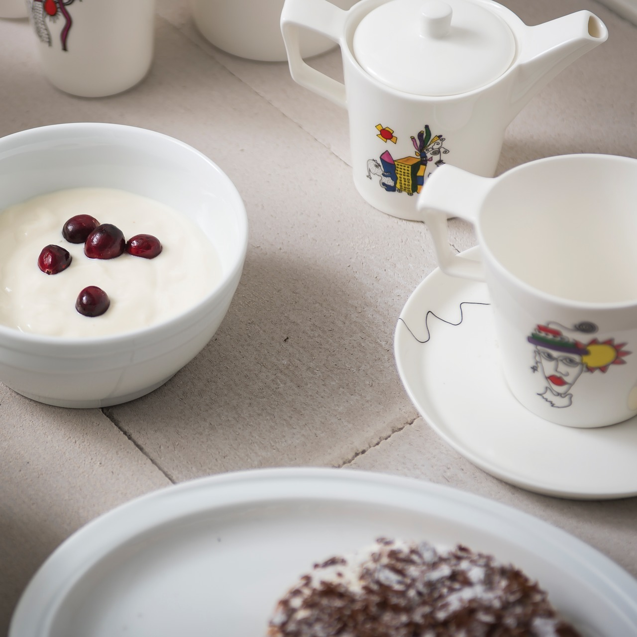 Фото Набор кружек для кофе 370 мл BergHOFF Eclipse ornament 2 шт
