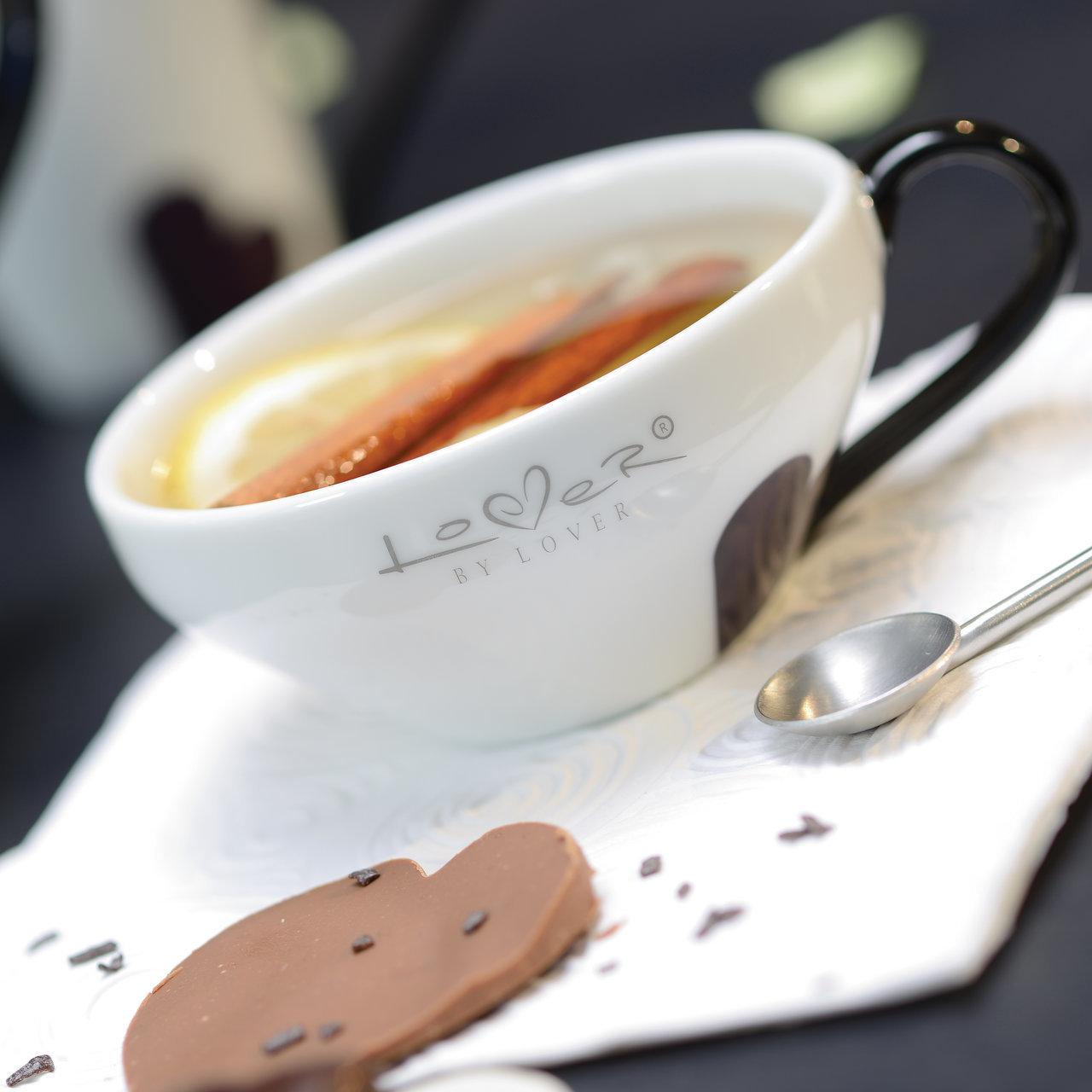 Фото Набор чашек для чая 220 мл (белые) BergHOFF Lover by Lover 2 шт