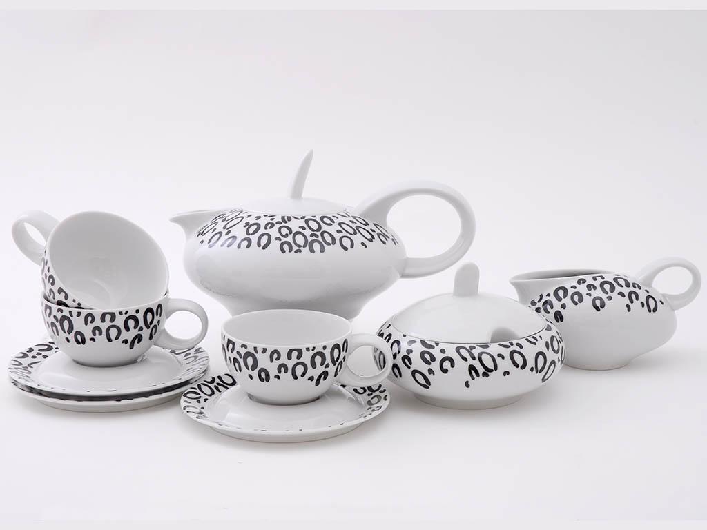 Фото Сервиз чайный 15 предметов на 6 персон, Форма Тереза Танзания