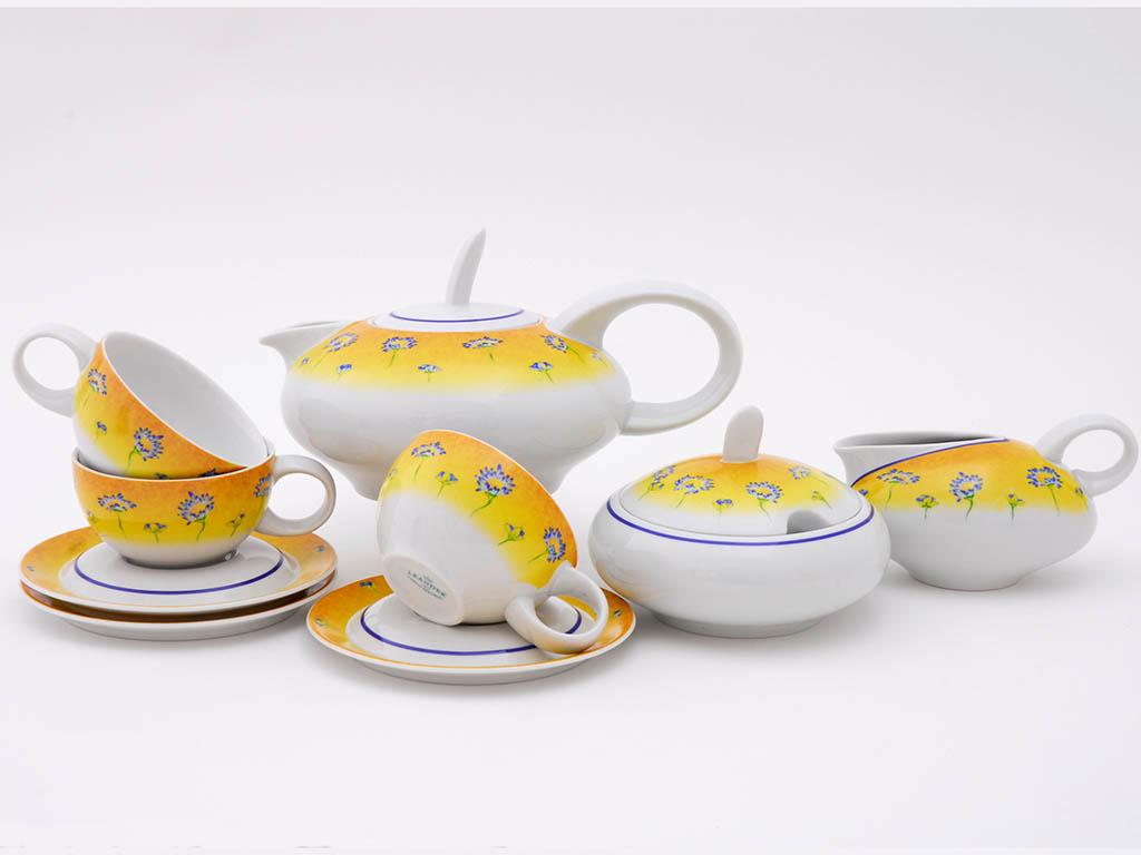 Фото Сервиз чайный 15 предметов на 6 персон, Форма Тереза Летний
