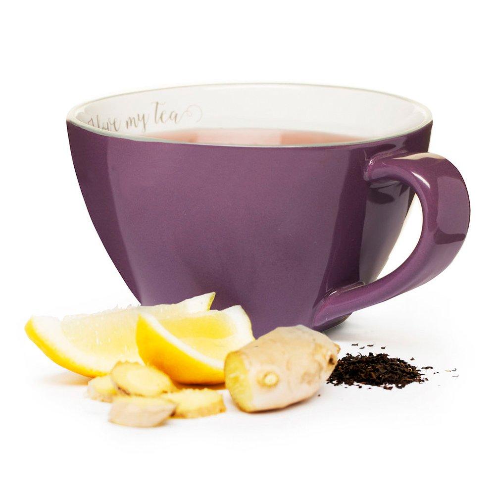 Фото Чашка чайная SagaForm Coffee and More 400 мл фиолетовый