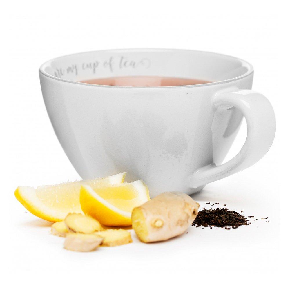 Фото Чашка чайная SagaForm Coffee and More 700 мл белый