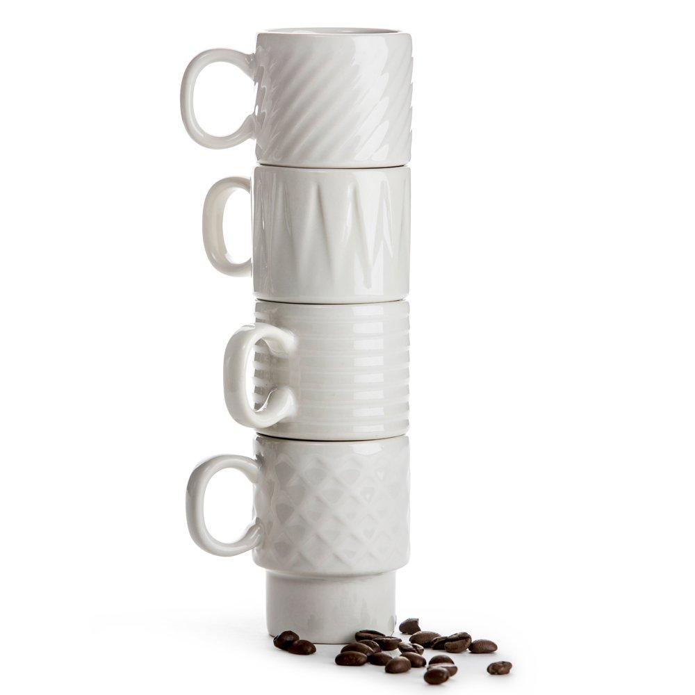 Фото Набор 4 кружек для эспрессо SagaForm Coffee and More 100 мл