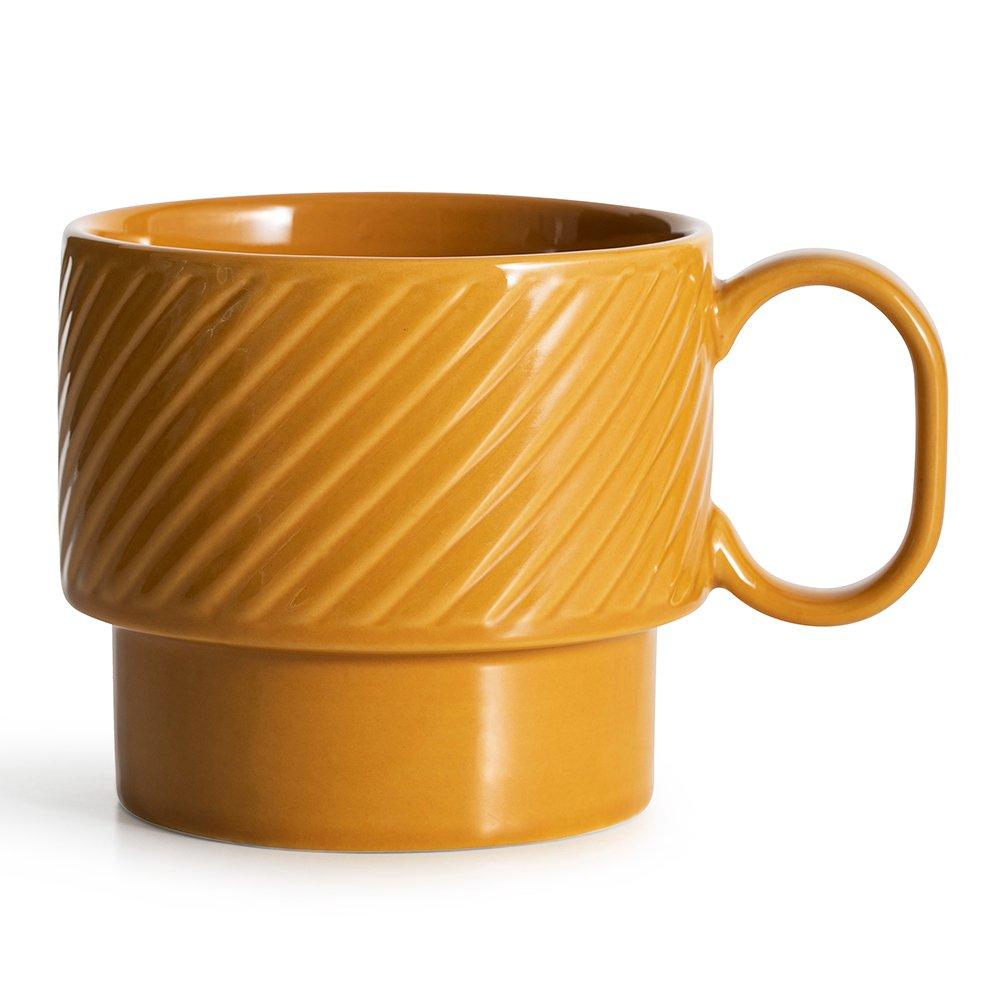 Фото Кружка SagaForm Coffee and More 400 мл желтый