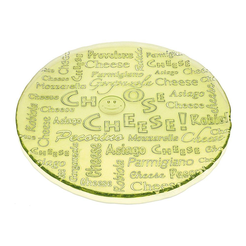 Фото Блюдо IVV I choose cheese зеленое 32 см