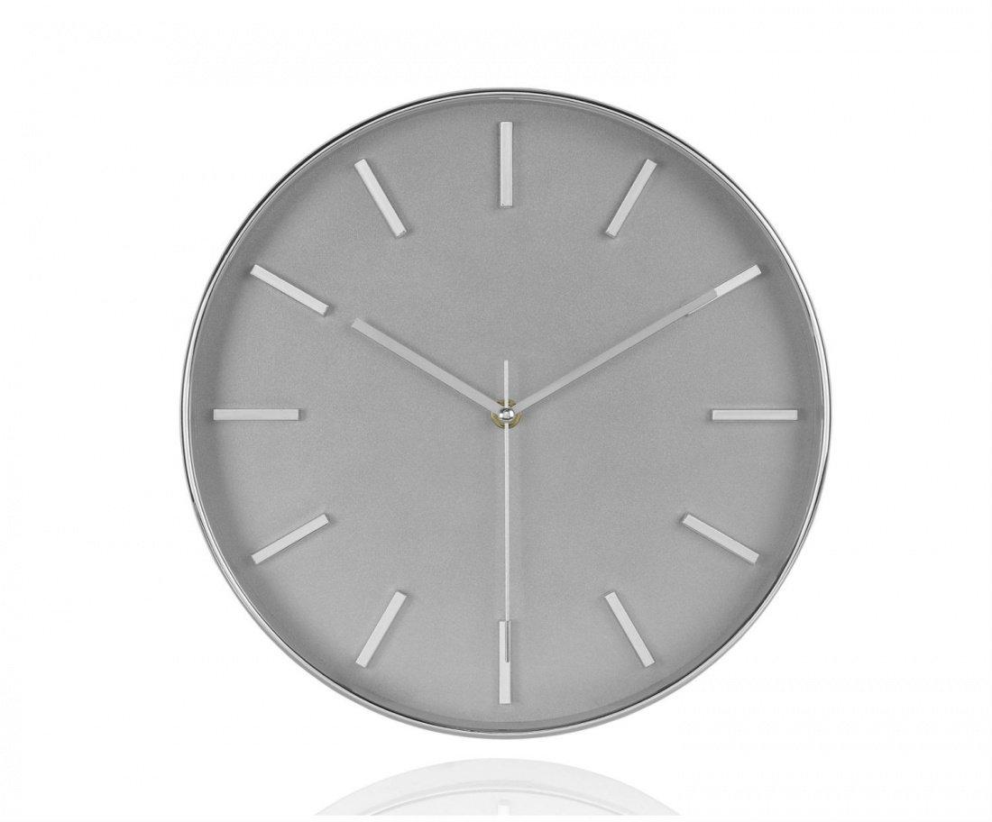 Фото Часы настенные Andrea House Chrome
