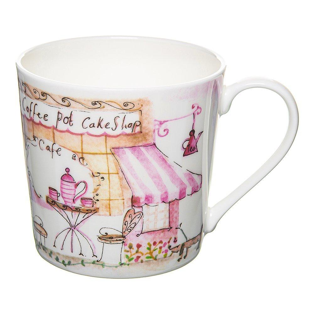 Фото Кружка Уличное кафе - розовое чаепитие 415 мл