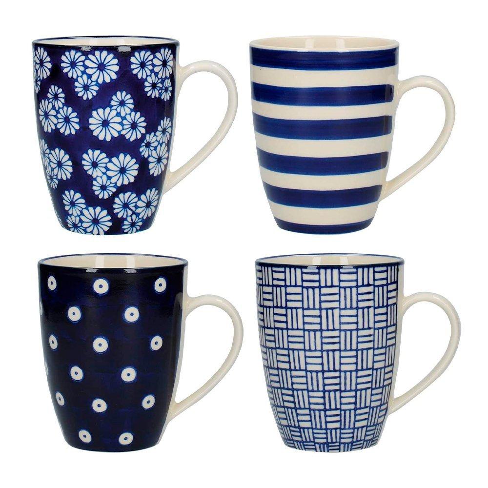 Фото Набор из 4 кружек 280 мл Kitchen Craft London Pottery