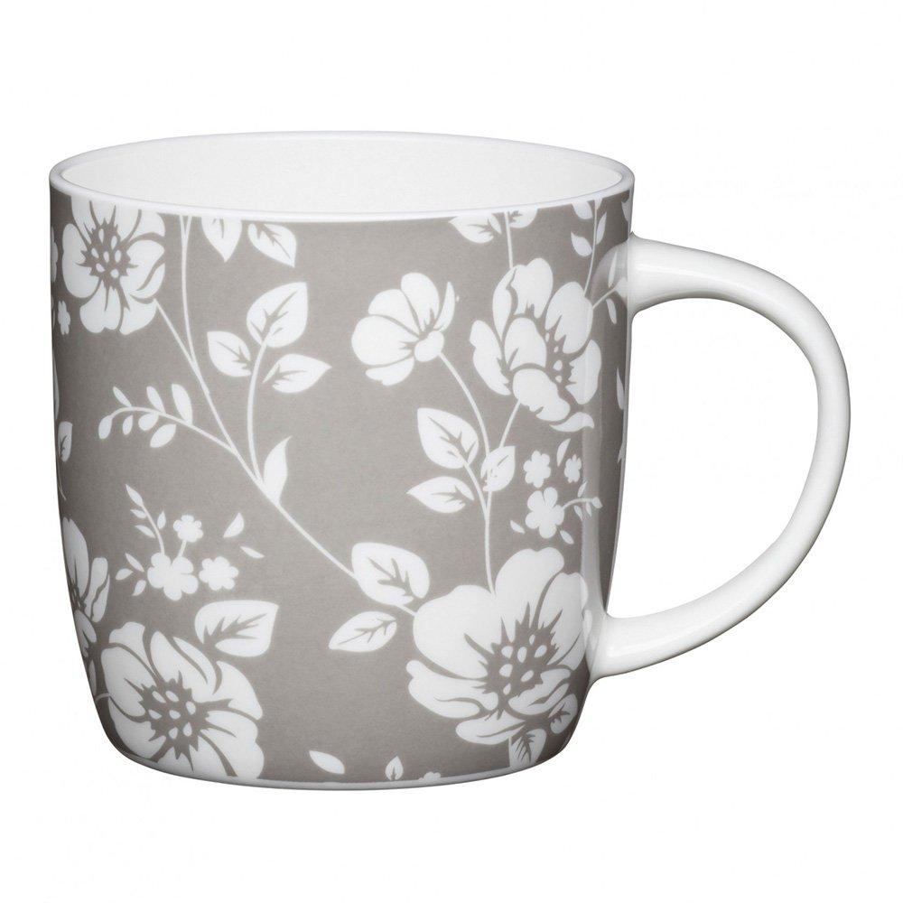 Фото Кружка Kitchen Craft Белый цветок 425 мл