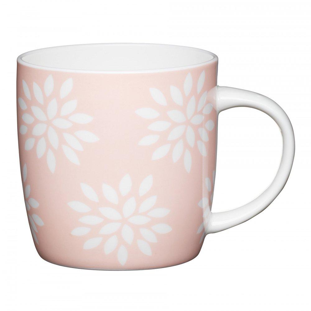 Фото Кружка Kitchen Craft Розовые цветы 425 мл