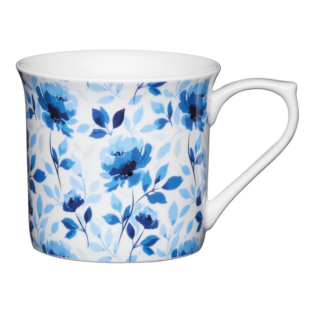 Фото Кружка Kitchen Craft Голубая роза 300 мл