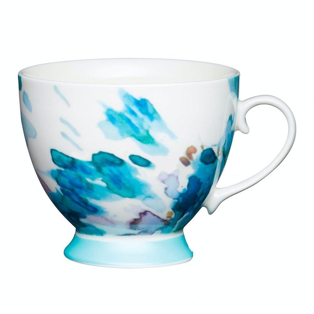 Фото Кружка Kitchen Craft Акварель голубая 400 мл