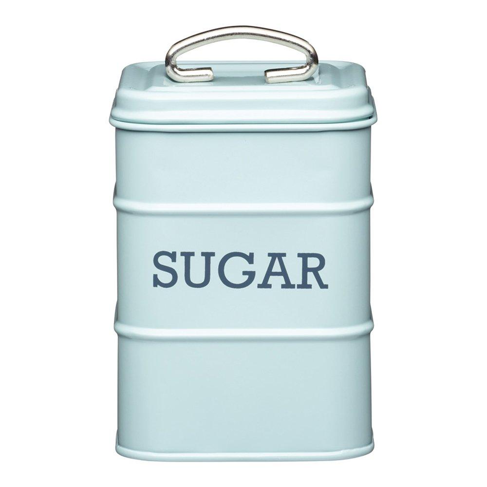 Фото Банка для хранения сахара Kitchen Craft Living Nostalgia голубая