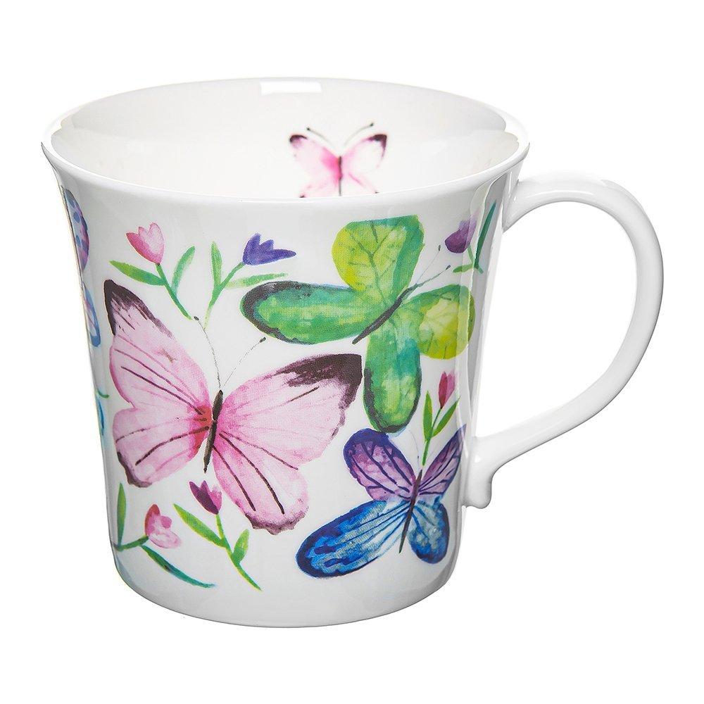 Фото Кружка Бабочки в тюльпанах 415 мл