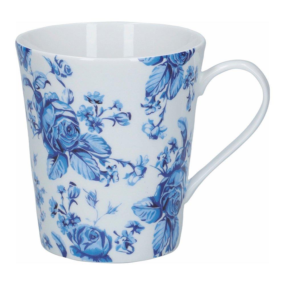 Фото Кружка Kitchen Craft Голубые цветы Хэмптон 330 мл