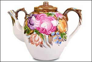 Чайники Дулево